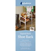 Whitmor Shoe Rack, Expand/Stack