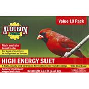 Audubon Park Suet, High Energy, Value 10 Pack