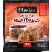 Mama Lucia Meatballs, Homestyle, Bite Size