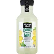 Minute Maid Flavored Juice Beverage Lemonade With Mint