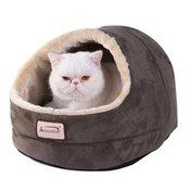 """Armarkat 18"""" x 14"""" Laurel Green Cave Cat Bed"""