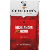 Camerons Coffee, Whole Bean, Light Roast, Highlander Grog