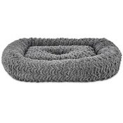 "Harmony 19"" x 16"" Grey Rectangle Cat Bed"
