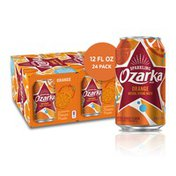 Ozarka Sparkling Water, Orange