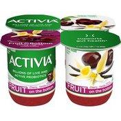 Activia Fruit on the Bottom Cherry & Vanilla Yogurt