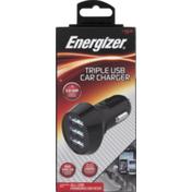 Energizer Car Charger, Triple USB