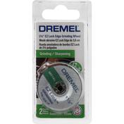Dremel Grinding Wheel, EZ Lock Edge, Metal, 1-1/2 inch