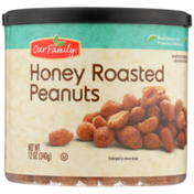 Our Family Honey Roasted Peanuts