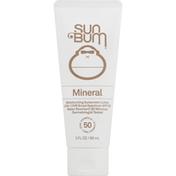 Sun Bum Sunscreen Lotion, Mineral, Broad Spectrum SPF 50