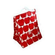 Lunchskins Red Apple Reusable Lunch Tote Bag
