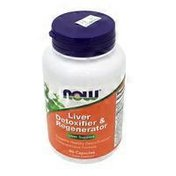 Now Liver Refresh Liver Support, Promotes Optimal Liver Health, Supports Healthy Detoxification Processes Dietary Supplement Veg Capsules
