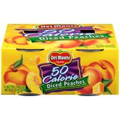 Del Monte Diced 50 Calorie Yellow Cling in Extra Light Syrup Peaches