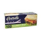 Centrella Zip Seal Sandwich Bag