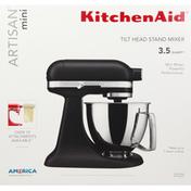 KitchenAid Stand Mixer, Tilt Head, Mini, Matte Black