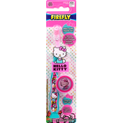 Firefly Toothbrush with Cap, Hello Kitty, Soft
