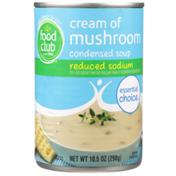 Food Club Reduced Sodium Cream Of Mushroom Condensed Soup