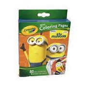 Crayola Minions Mini Coloring Pages