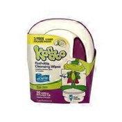 Kandoo Magic Melon Scent Flushable Cleansing Wipes in Tub