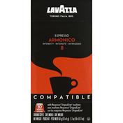 Lavazza Coffee, Ground, Espresso, Armonico