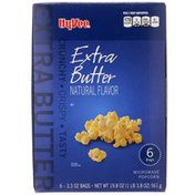Hy-Vee Extra Butter Microwave Popcorn