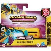 Transformers Bumblebee, Sting Shot, Cyberverse Adventures, 6+