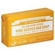 Dr. Bronner's Bar Soap, All-One Hemp Citrus