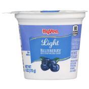 Hy-Vee Blueberry Light Nonfat Yogurt
