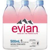 evian Natural Spring Water