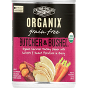 Organix Dog Food, Organic Carved Turkey Dinner With Carrots & Sweet Potatoes In Gravy