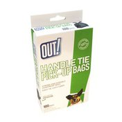 Out! Handle Tie Pick-Up Bags 100 ct