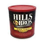 Hills Bros. Coffee, Ground, Medium Roast, High Yield