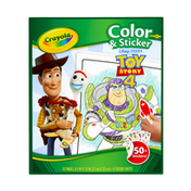 Crayola Toy Story Coloring Book with Stickers