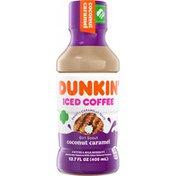 Dunkin' Coconut Caramel Iced Coffee Bottle