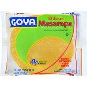 Goya Masarepa Discos Dough for Turnover Pastries