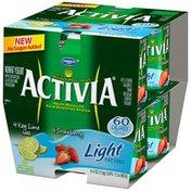 Activia Strawberry/Key Lime 4 Oz Activia Light Fat Free Yogurt