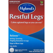 Hyland's Restful Legs, Homeopathic, Quick-Dissolving Tablets
