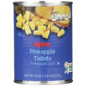Hy-Vee Pineapple Tidbits In Pineapple Juice