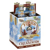 Virgil's Cream Soda, Zero, 4 Pack, Multipack