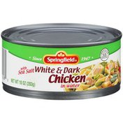 Springfield White & Dark in Water Chicken