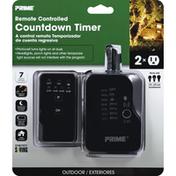 Prima Countdown Timer, Remote Controlled