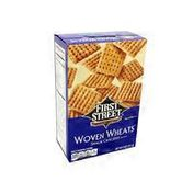 First Street Woven Wheats Snack Crackers