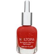 Nailtopia Nail Lacquer, Pizza Queen 6000-18