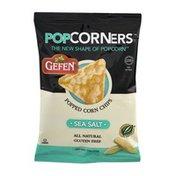Gefen Pop Corners Popped Corn Chips Sea Salt
