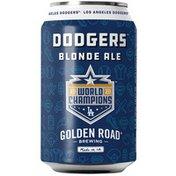 Golden Road Brewing Dodgers Blonde Ale Beer Can