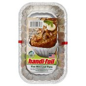 Handi-Foil Loaf Pans, Mini