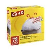 Glad Drawstring 13 Gallon Tall Kitchen Bags