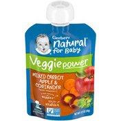 Gerber Veggie Power Mixed Carrot Apple & Coriander Baby Food