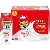 Horizon Organic Whole Shelf-Stable Milk Boxes
