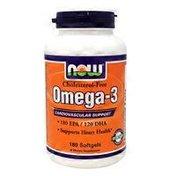 Now Omega 3 1000 Mg Softgels
