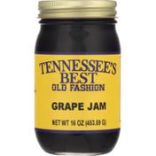 Tennessee's Best Jam, Old Fashion, Grape, Jar